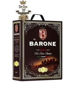 Rượu Vang Bịch iL Barone Rosso 3 Lít 12%
