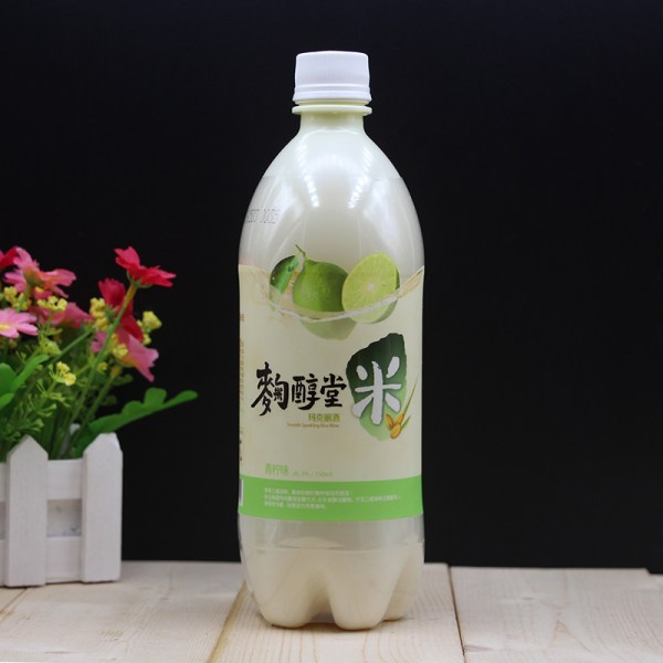 Rượu Makgeolli-Light Lime1