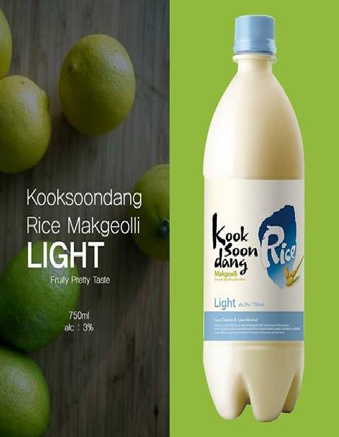 Rượu Makgeolli-Light1