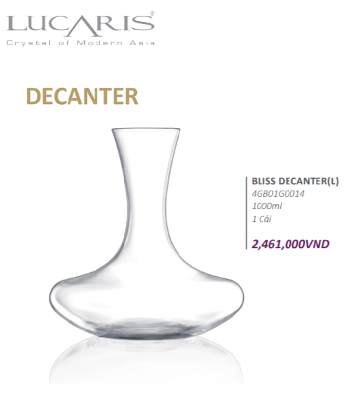 Decanter ( Lucaris)