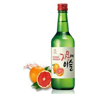 Soju Chamisul fruit3
