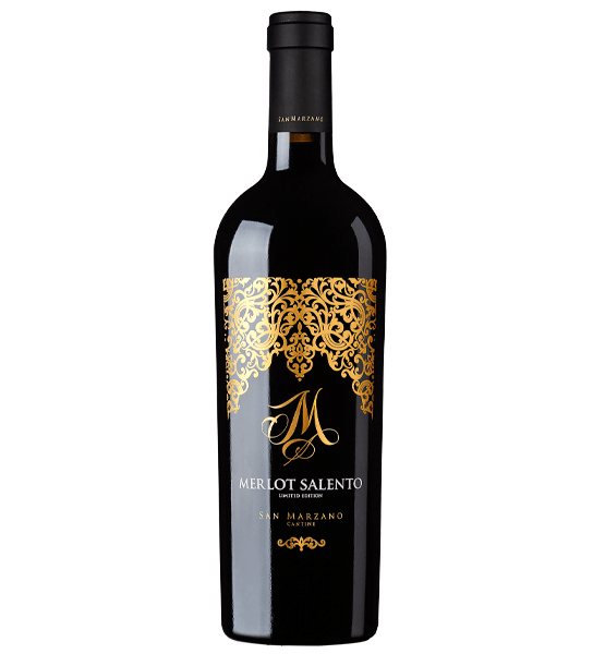 ruou vang Ý M Merlot Salento Limited Edition