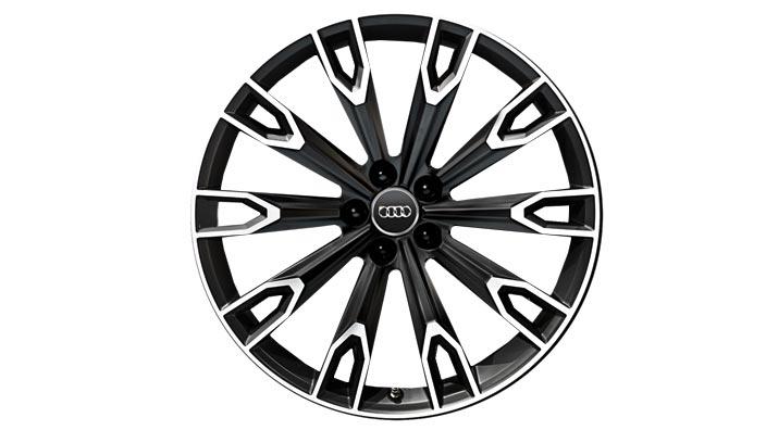 Cast aluminium wheel in 10-arm talea design 4M0071491 LT7