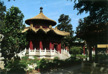 北京観光ブログ-景山公園