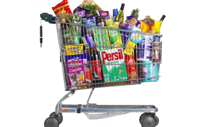 Full Grocery Cart Png