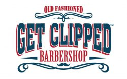 Get Clipped Barbershop Logo
