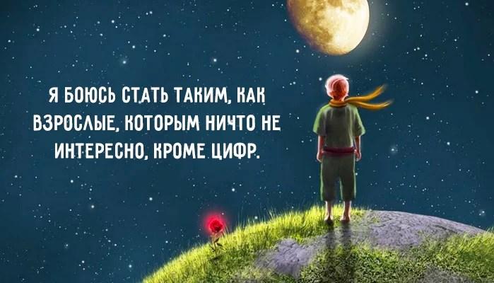 цитаты из «Маленького принца» 3