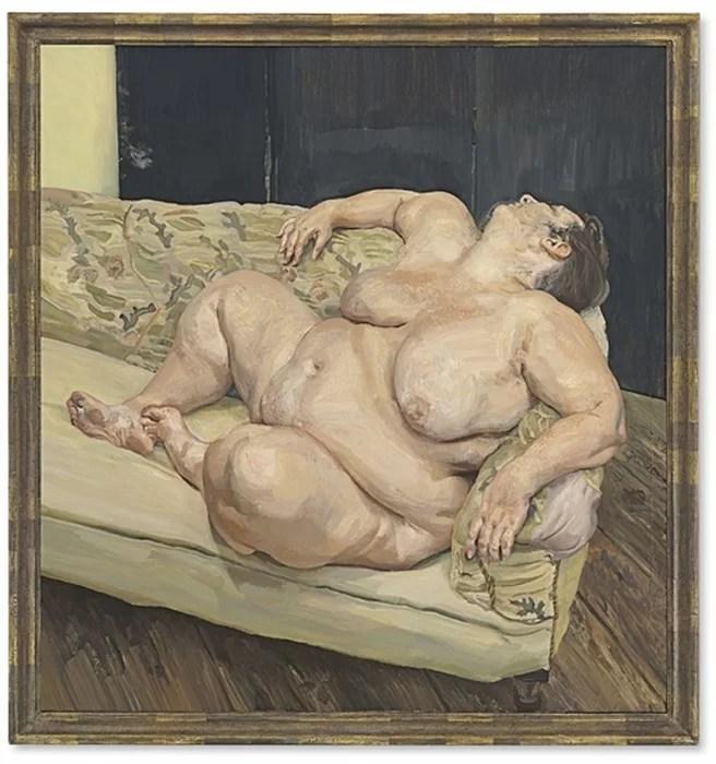 «Социальный смотритель спит», Люсьен Фрейд