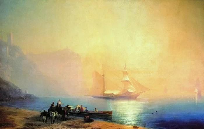 картины Ивана Айвазовского 1