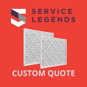Service Legends Custom Filter Quote