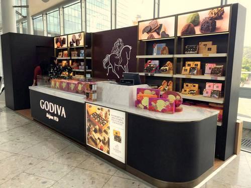 Godiva Chocolatier Chocolate Shops in Hong Kong - SHOPSinHK