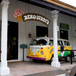 Ben & Jerry's Ice Cream Cafe Dempsey Hill Singapore