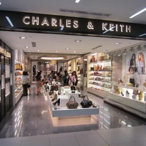 Charles & Keith shoe store NEX shopping mall Singapore