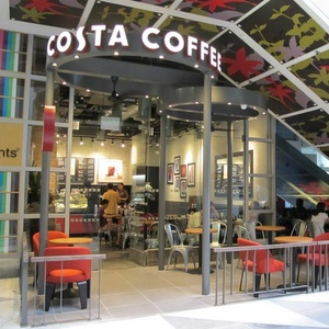 Costa Coffee cafe Chevron House Singapore