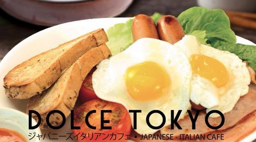 Dolce Tokyo Cafe breakfast Singapore