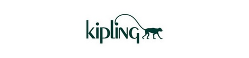 Kipling bag store logo.