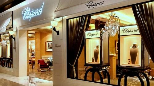 3e9d2e2496ef3 Chopard watch and jewellery store Marina Bay Sands Singapore.