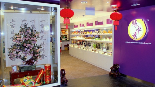 New Trend Lifestyle Feng Shui store Chinatown Singapore.
