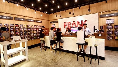 FRANK by OCBC bank branch Orchard Gateway Singapore.