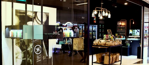 The Shop by HIC Suntec City Singapore.