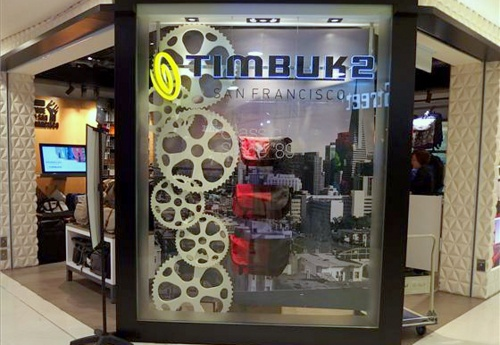 Timbuk2 bag store Bugis Junction Singapore.