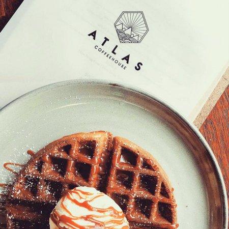 Atlas Coffeehouse pancake Singapore.
