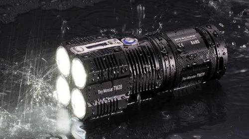 Nitecore TM 28 flashlight Singapore.