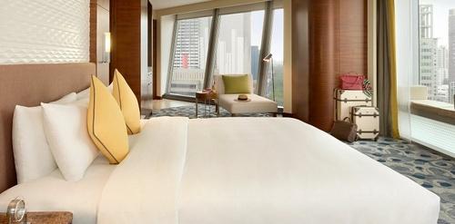Hotel Jen orchardgateway Panorama Club Room Singapore.