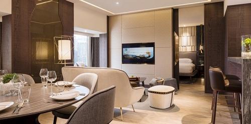 Hotel Jen Tanglin Premier Suite Singapore.
