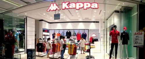 Kappa clothing store JEM Singapore.