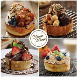 Miam Miam French-Japanese restaurant souffle pancake desserts Singapore.