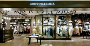 Scotch & Soda clothing store Ngee Ann City Singapore.