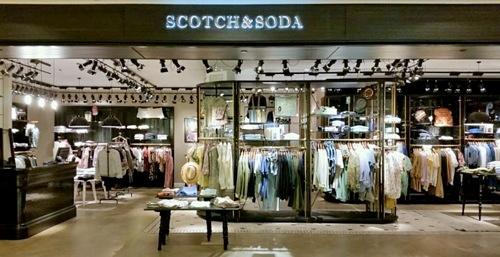 Scotch & Soda clothing store Ngee Ann City Singapore.
