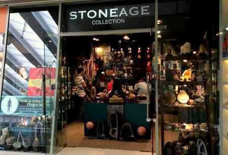 Stoneage Collection store Marina Square Singapore.