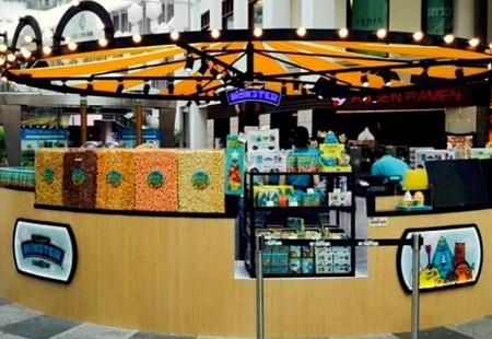 Sweet Monster ice cream shop Bugis Junction Singapore.