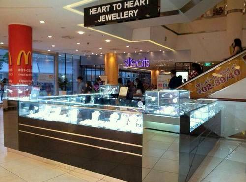 Heart to Heart Jewellery store at City Square Mall in Singapore.