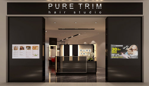 Pure Trim Hair Studio at City Square Mall in Singapore.