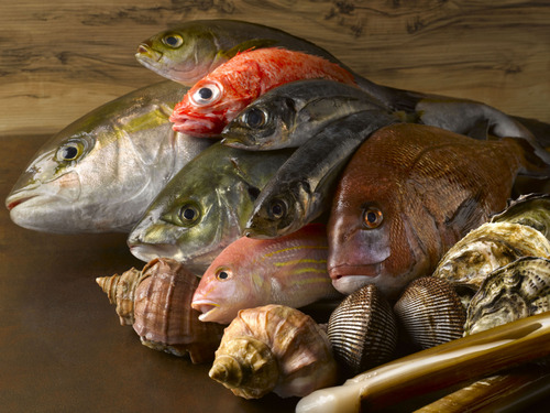 Live Seafood Marketplace by Emporium Shokuhin in Singapore.