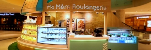 Ma Mère Boulangerie bakery at Marina Square shopping mall in Singapore.