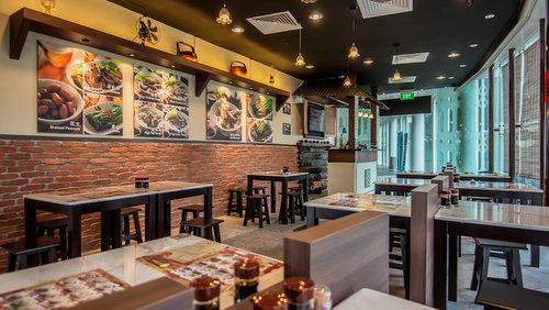 Rong Hua Bak Kut Teh Chinese restaurant in Singapore.