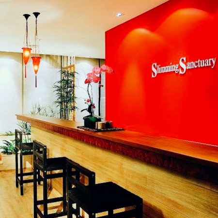 Slimming Sanctuary beauty salon at Marina Square shopping centre in Singapore.