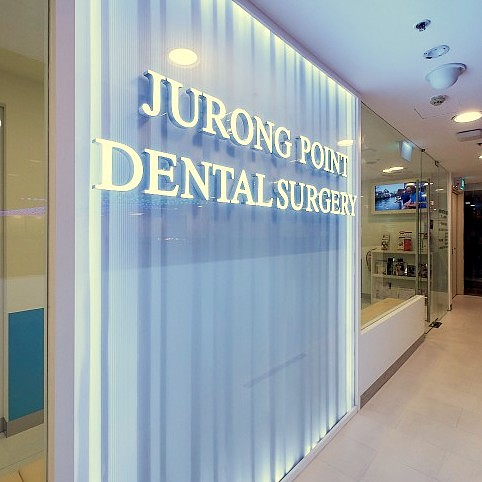 Jurong Point Dental Surgery clinic at Jurong Point mall in Singapore.