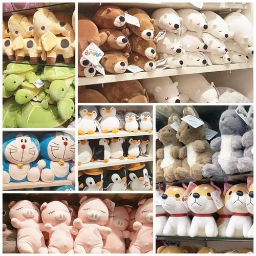 Mini Toons plush toys, available in Singapore.