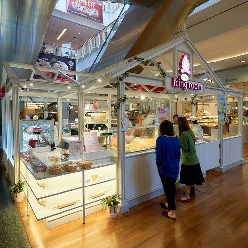 The Icing Room cake shop at Jurong Point mall in Singapore.