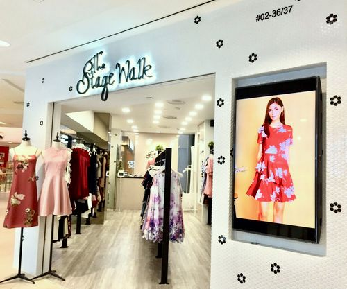 The Stage Walk clothing store at Junction 8 mall in Singapore.