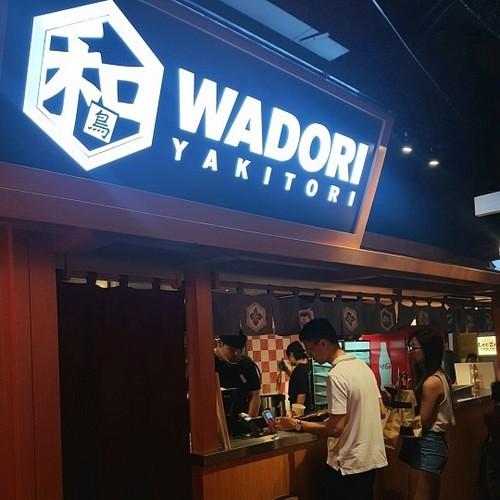 Wadori Yakitori Japanese restaurant at Jurong Point mall in Singapore.