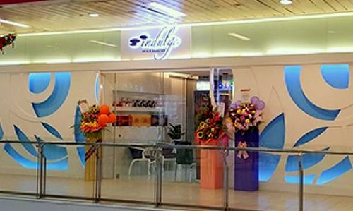 Indulge Skin & Body Lab beauty salon at AMK Hub mall in Singapore.