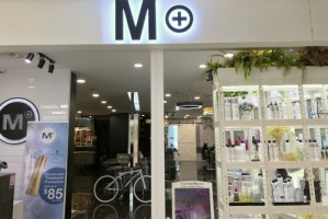 M+ hair salon at Tampines 1 shopping centre in Singapore.