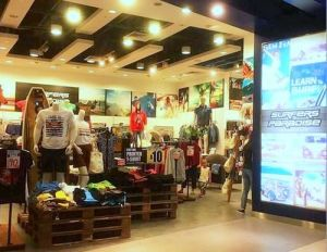 Surfers Paradise shop at JCube mall in Singapore.