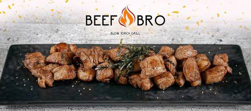 Beef Bro restaurant's beef cubes, available in Singapore.